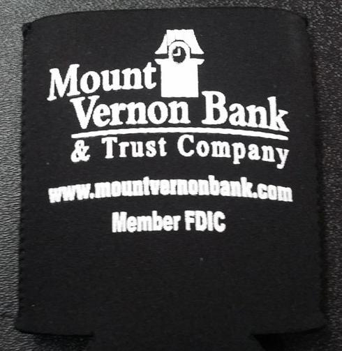 Mount Vernon Bank and Trust Koozies