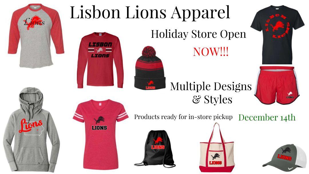 Lisbon Lions Apparel