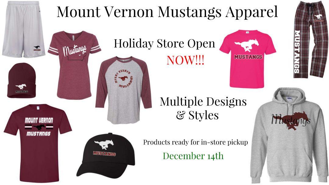 Mount Vernon Mustangs Apparel